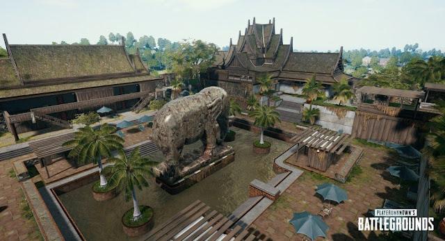Paradise Resort Map sanhok Tempat Loot Terbaik PUBG Mobile