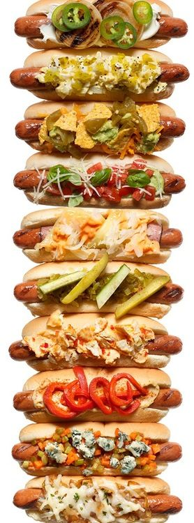 Dinner Recipes: Hot-Dogs