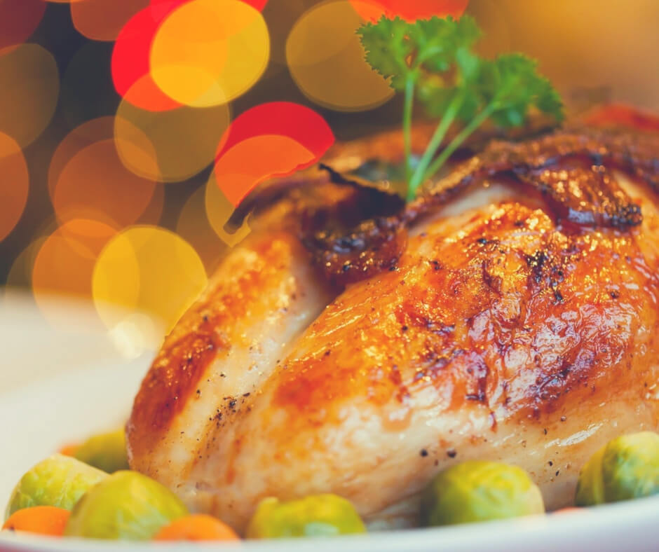 Post Comment Love 23rd - 25th November | I'm looking forward to Turkey for Christmas Lunch.