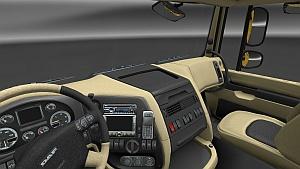 Crème HD interior for DAF