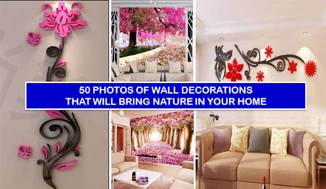 Wall decoration is mostly creating theme for the room or living area, by wall painted, wall canvas, pictures, wall arts or stickers With this decoration your living room will transformed into stylish and bring natural look of nature in your your home. Check the photos of wall sticker decorations that will bring nature in your home and imagine what is your room look likes by applying those wall sticker.