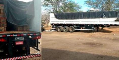 Polícia Civil recupera em PE carga e carreta roubadas em Delmiro Gouveia