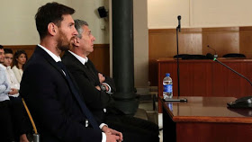 "The Spanish Supreme Court has rejected Lionel Messi's appeal against his conviction for tax evasion.   The Argentine was sentenced to 21 months in jail last year for failing to pay €4.1 million in taxes on image rights in 2007, 2008 and 2009, and was also given a €2m fine. His father, Jorge Messi, was handed the same prison sentence and a smaller fine of close to €1.7m.  Although Messi is unlikely to serve time behind bars because he has no prior convictions, he appealed what his lawyers called a ""symbolic"" conviction, taking the case to a higher court.  The appeal has been knocked back, but the Supreme Court has lowered his sentence to 15 months, while his fine now stands at €1.3m and Jorge's has been cut to €1.3m.  The tribunal ruled that the 29-year-old knew his obligations and knowingly defrauded the government, stating that ""avoidable ignorance"" does not exclude him from responsibility.  ""It is not fitting to assume that the person who has a large income can ignore the duty to pay for it,"" the ruling read.  ""Whoever does not pay anything at all to the Treasury despite the high perception of concrete income (the image rights), knows that he is defrauding."""