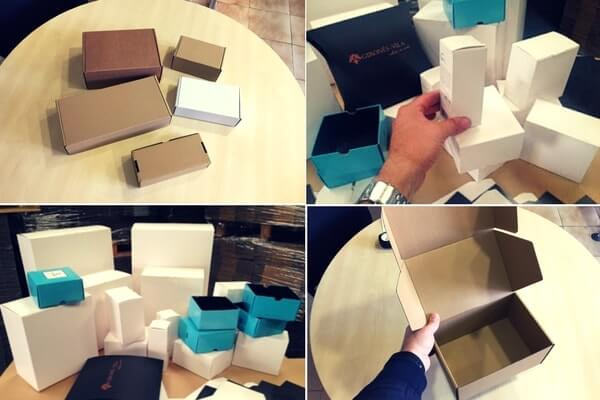 cajas para cremas y cajas para envios online de cremas