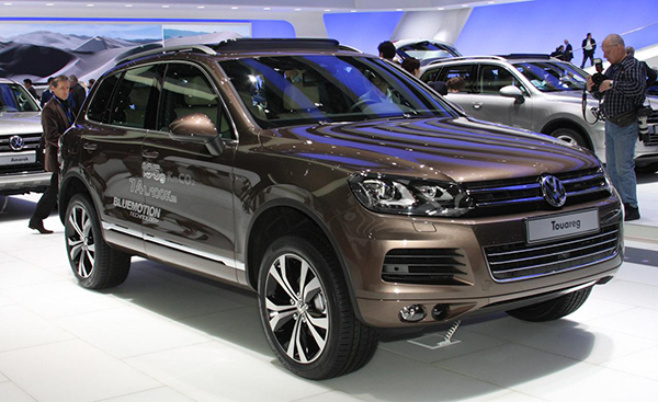 Tinh tu dau nam 2017,  Volkswagen Touareg  dung dau bang ve mua giam gia o to tai Viet Nam