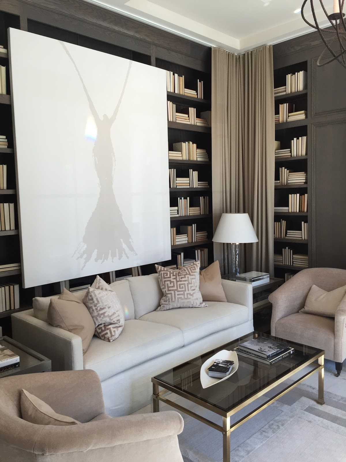 The Study Designed By Robert Brown Of Interior Design Was One My Favortie Rooms
