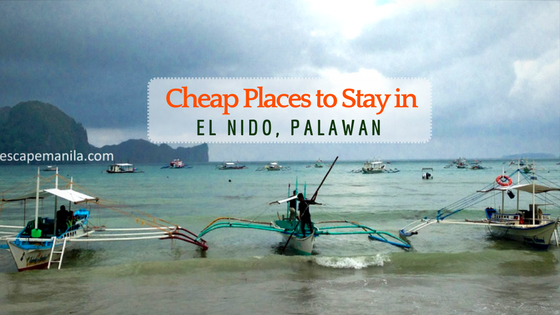 Cheap Places to Stay in El Nido, Palawan