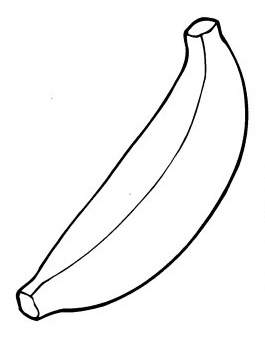 Bananas Coloring Pages | Learn To Coloring