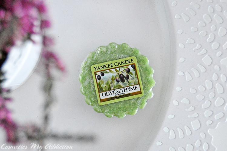 YANKEE CANDLE | Olive and thyme - Oliwka i tymianek