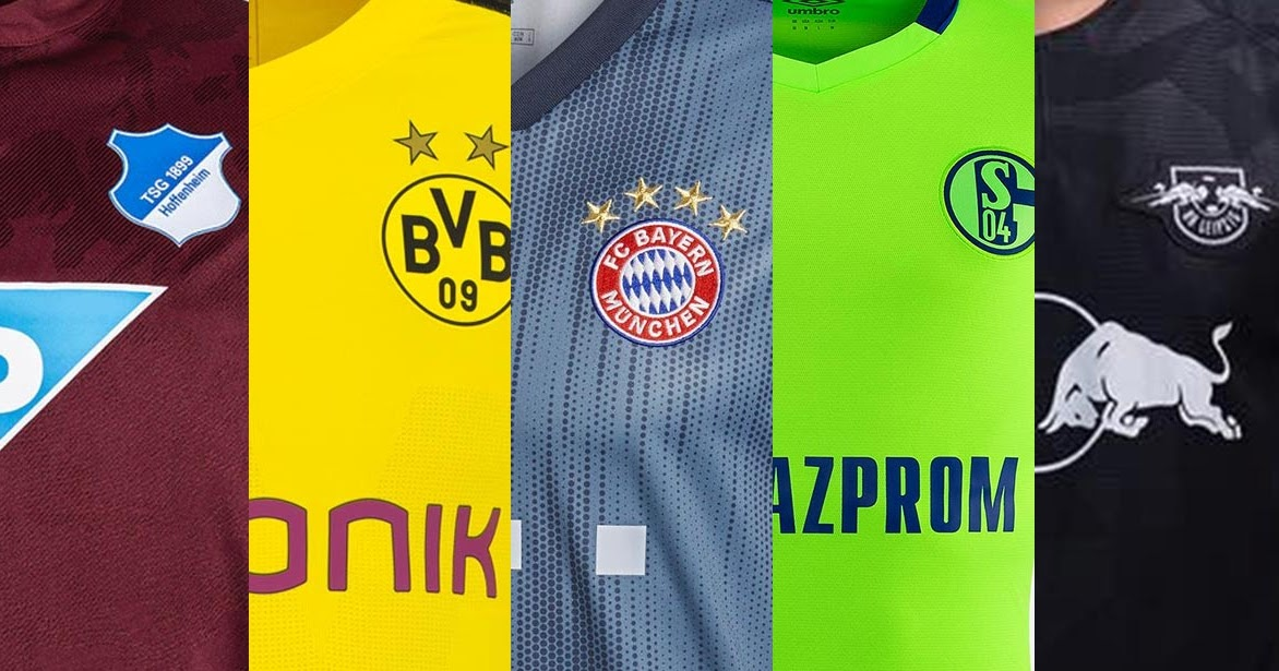 All 18 19 Bundesliga Kits Overview Including Bayern