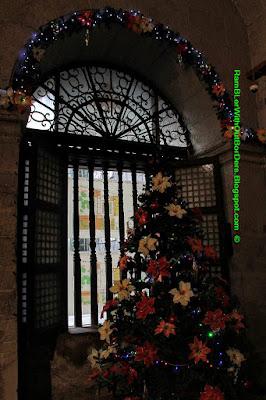 christmas tree, san augustin church, Intramuros, Manila, Philippines