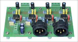 Balanced Output Board For The Stereo DAC