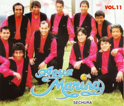 Foto de Agua Marina en portada de disco