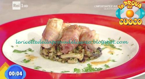 Bocconcini di tacchino con pancetta e senape ricetta Bertol da Prova del Cuoco