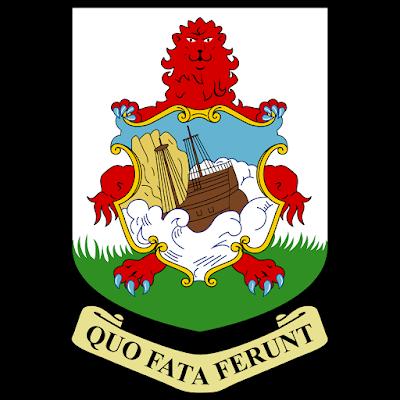 Coat of arms - Flags - Emblem - Logo Gambar Lambang, Simbol, Bendera Negara Bermuda