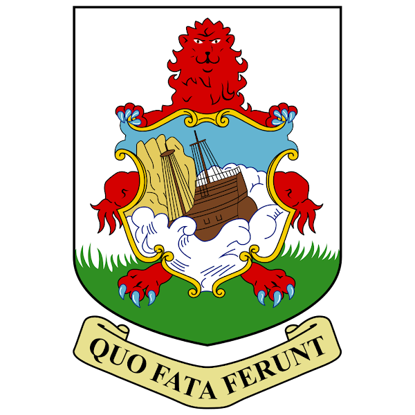 Logo Gambar Lambang Simbol Negara Bermuda PNG JPG ukuran 600 px
