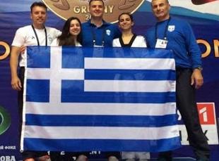 Ευρωπαϊκό πρωτάθλημα Ταεκβοντό: Δύο μετάλλια για την Ελλάδα