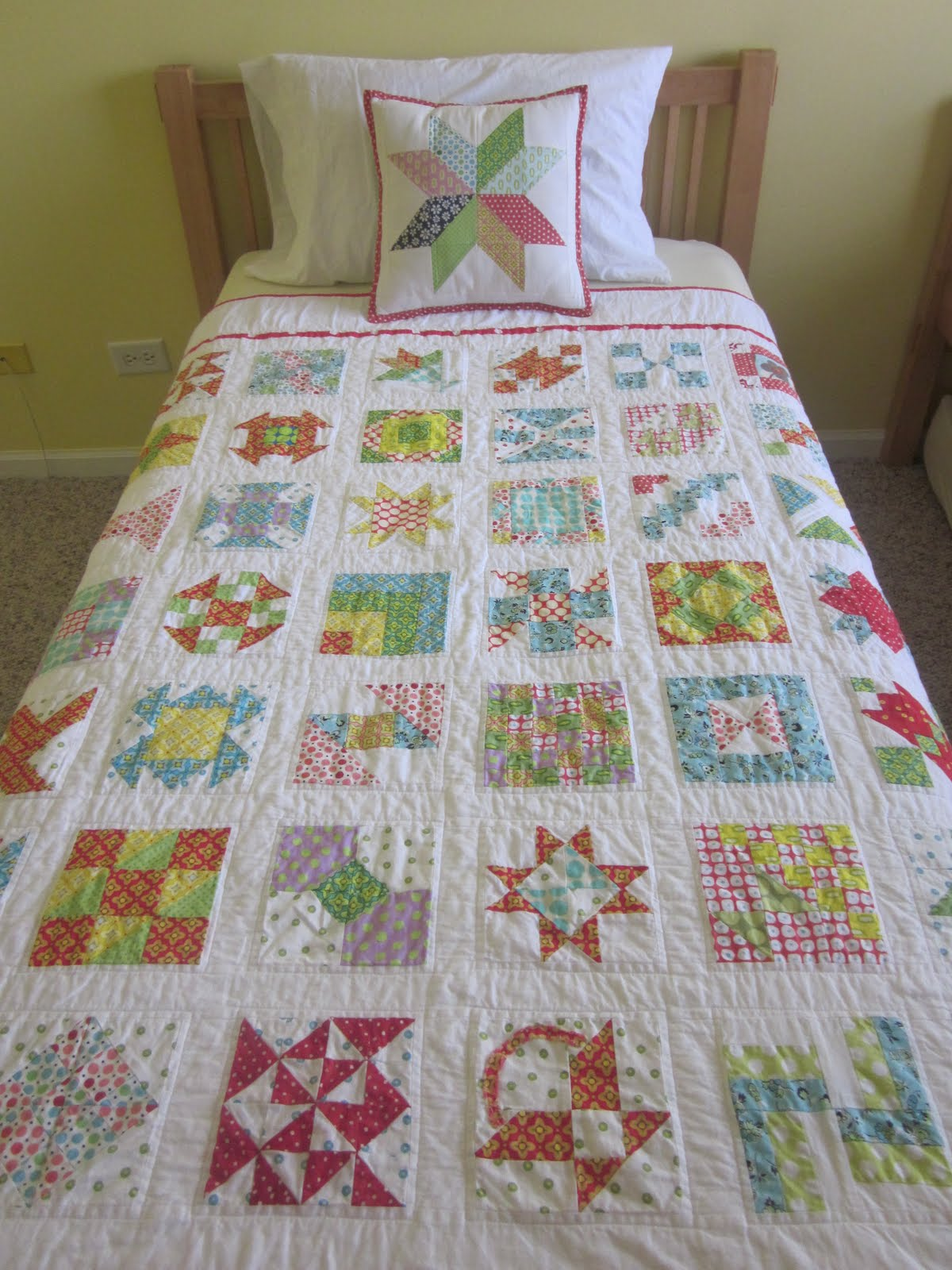 S O T A K Handmade Farmer S Wife Quilt Finished