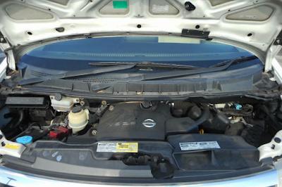 Foto Mesin Nissan Elgrand E51 2.5 Liter V6