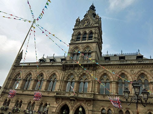 Chester Town Hall, Cheshire, Britain.