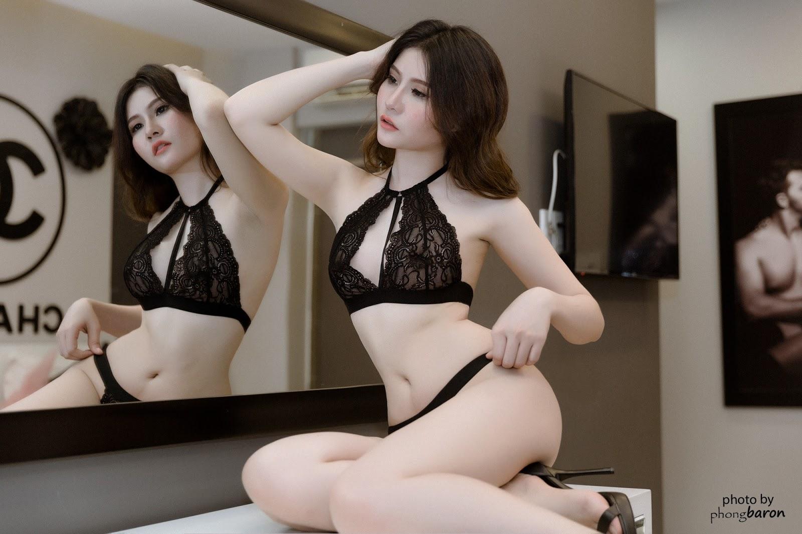 Hình ảnh Tân hoa hậu Việt Nam Trần Tiểu Vy bikini 2019