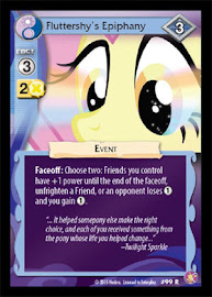 MLP Fluttershy´s Epiphany Absolute Discord CCG Card