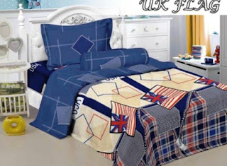 Sprei Kintakun Luxury UK Flag