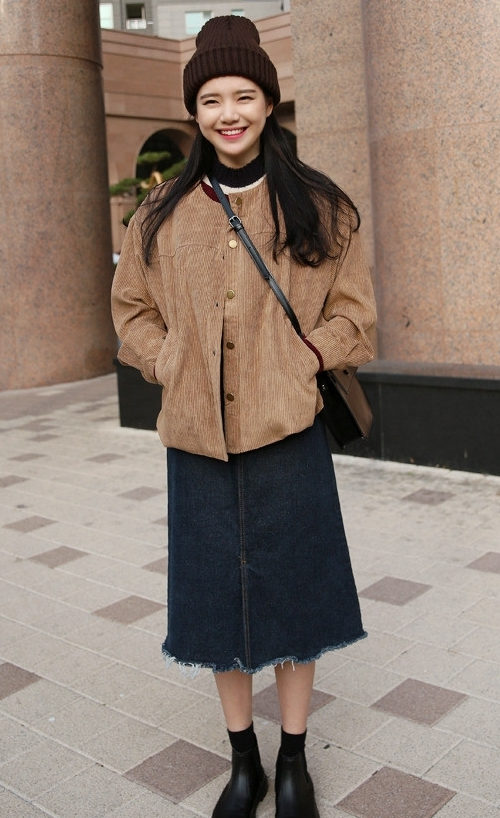 Corrugated Button-Down Jacket