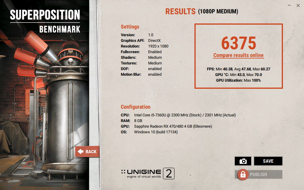 Come fare un benchmark alla scheda video