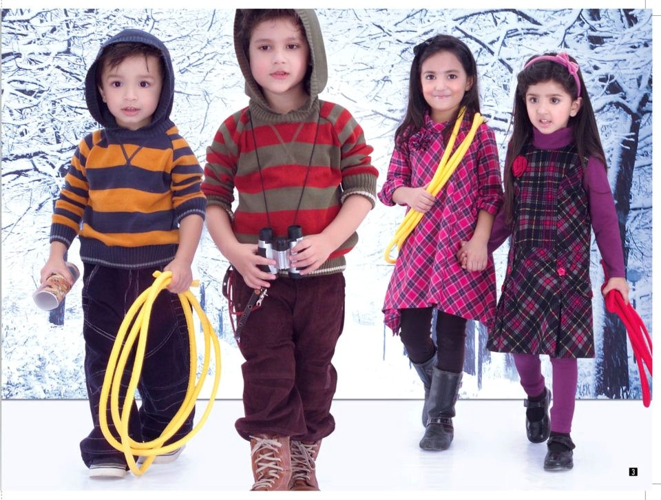 Latest Minnie Minors Fall Winter Collection 2012 Latest