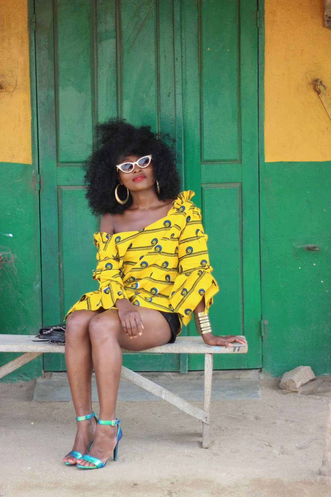 coiffure afro, blogueuse mode,