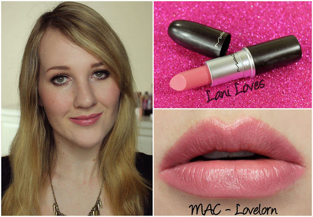 MAC Lovelorn lipstick swatch