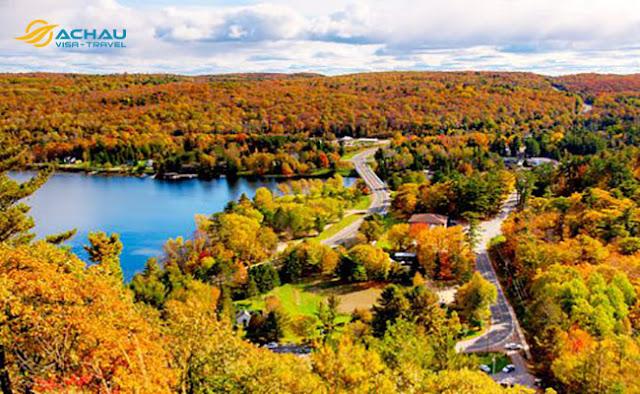 Những địa điểm đẹp quên lối về khi du lịch Canada7