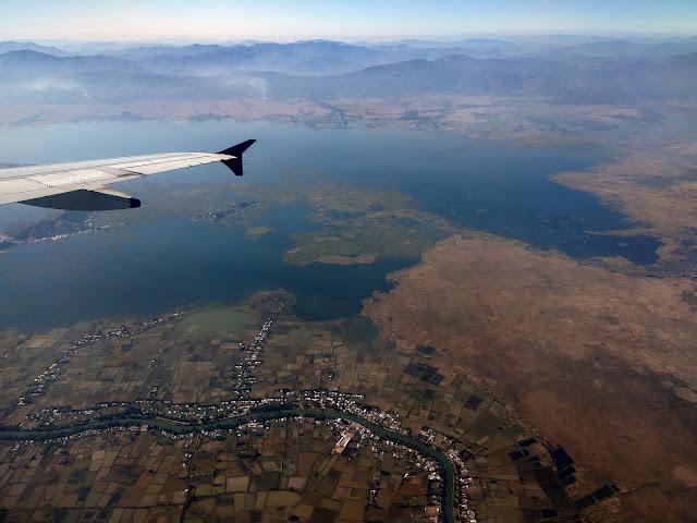 Loktak, lake, freshwater, Imphal, Moirang, Manipur, aeroplane