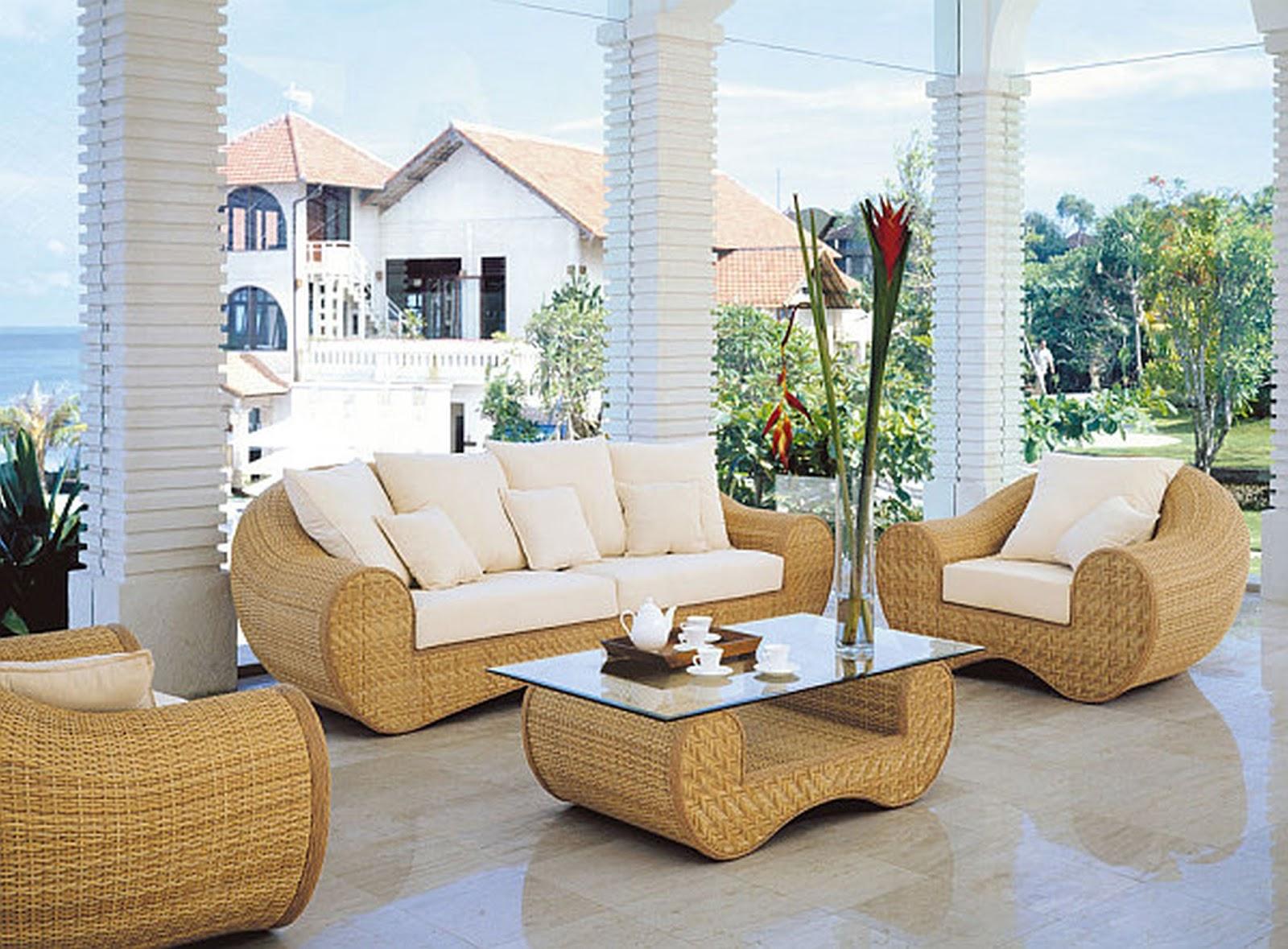 Consejos para cuidar muebles de mimbre revista tendenciadeco - Sofas de mimbre ...