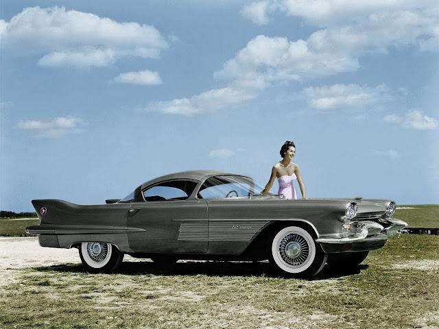 Cadillac El Camino 1950s American classic concept car