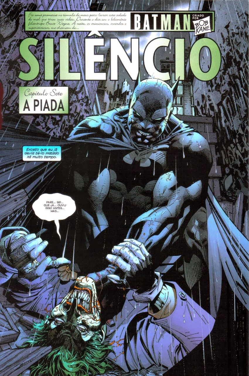Pdf batman silencio
