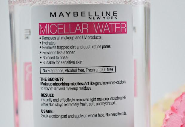 Maybelline Micellar Water Beauty 101