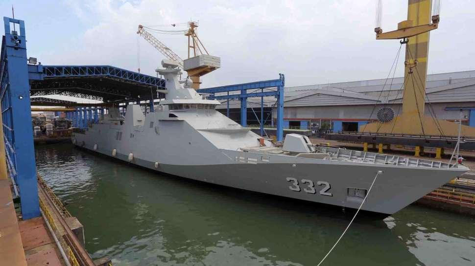 Dikerjakan bersama antara PT PAL dengan Damen Schelde Naval Shipbuilding Belanda