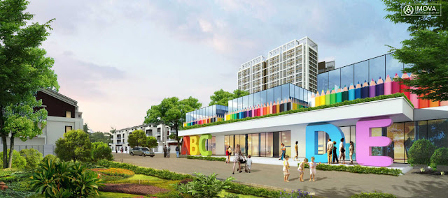 Trường học liên cấp tại Louis City Tân Mai