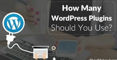 how many WordPress plugins should you use