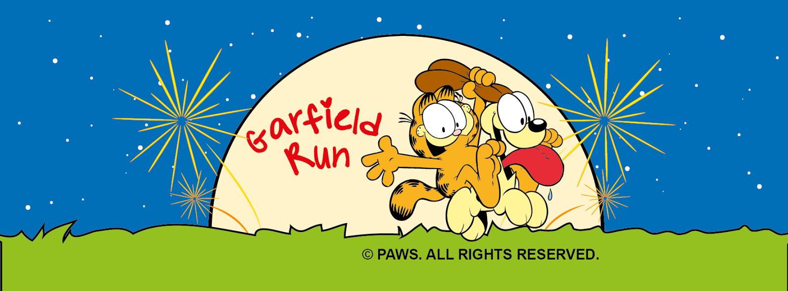 Fat Old Man Running Garfield Run 2014