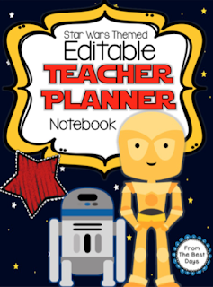 Editable Star Wars Planner