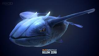 Subnautica Below Zero Logo Wallpaper
