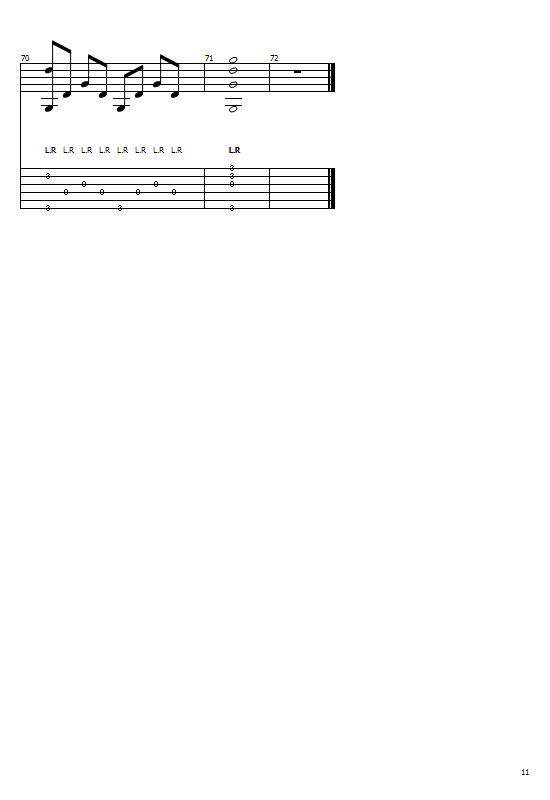 Yanni - Adagio In Cm (Guitar Cover) (Chords & Key) (Guitar Lessons) Tabs & Sheet Music - Yanni Songs