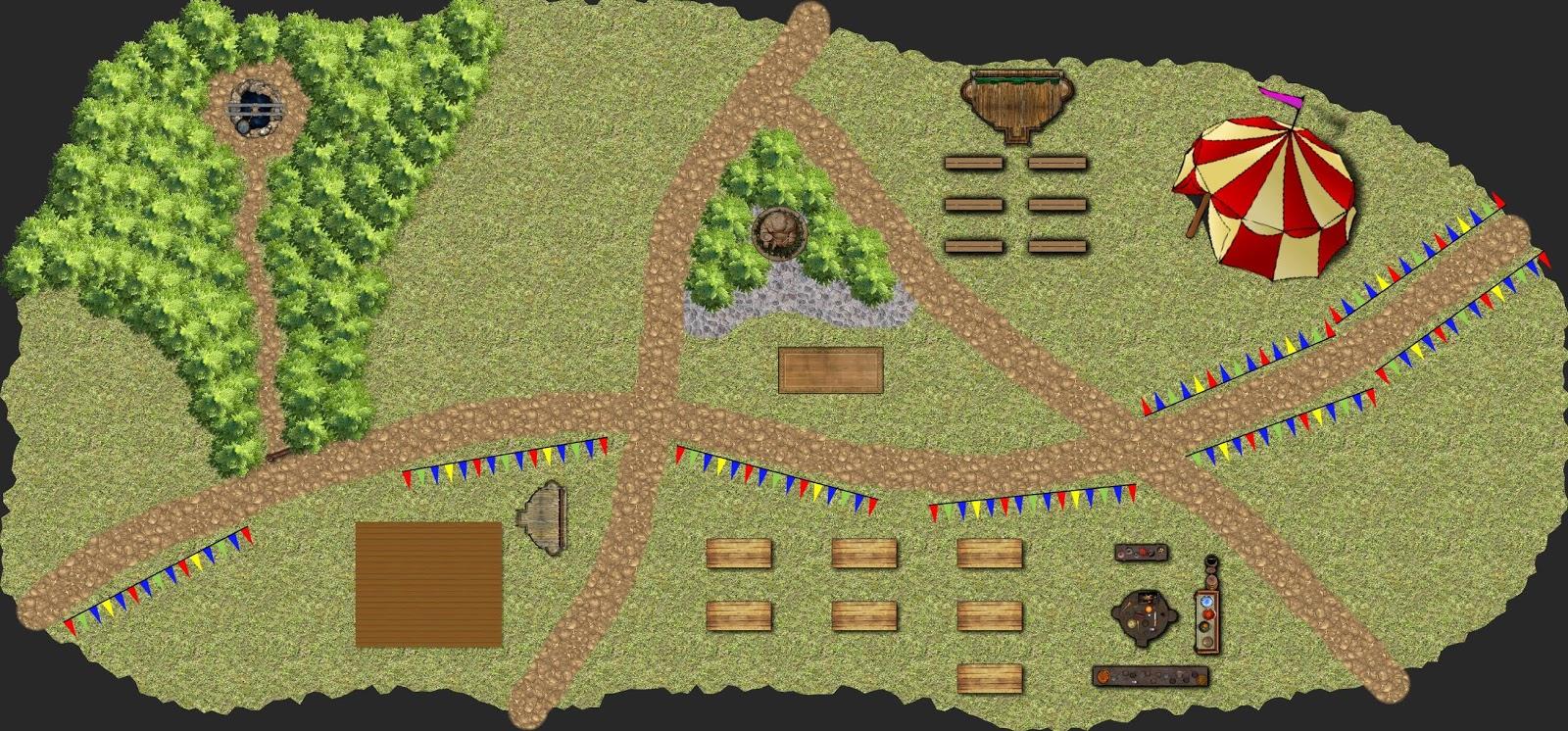 Aventura de nivel 1 para Dungeons & Dragons - El Pozo de los Deseos - Feria de Gallor