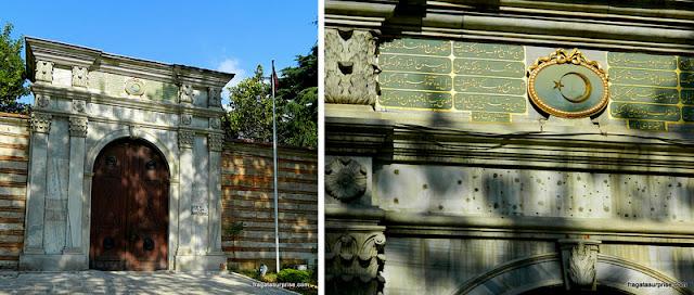 Portas de acesso ao Palácio de Topkapi, Istambul