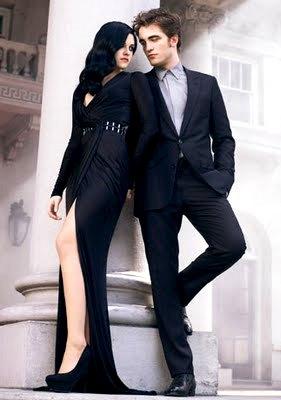 Foto de Kristen Stewart y Robert Pattinson en sesión fotográfica