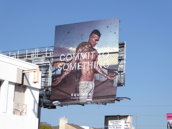 Equinox Commit to Something Bees billboard