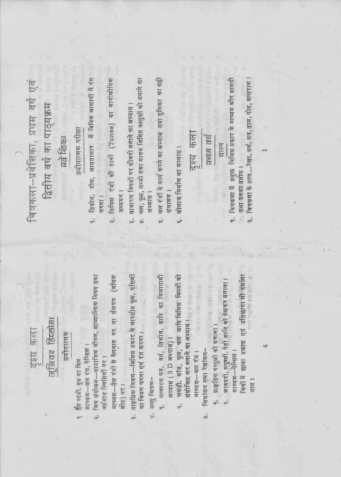 Old Question Papers of Music Examination: Prayag Sangeet